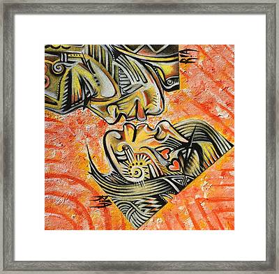 Intricate Intimacy Framed Print