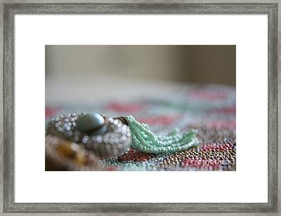 Intricate Too Framed Print by Lynn England