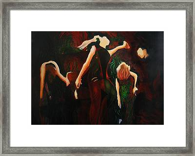 Intricate Moves Framed Print