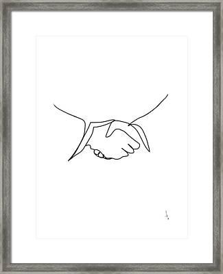 Intro Framed Print by Harold Belarmino