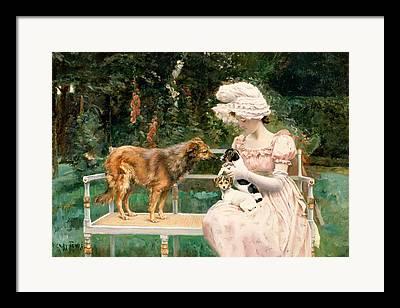 Charles Henry Tenre Framed Prints