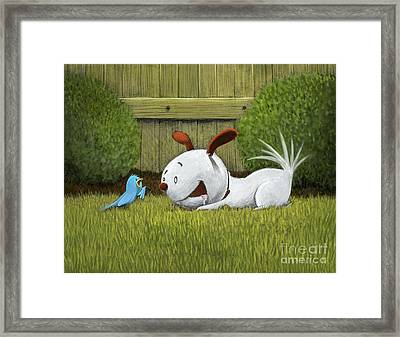 Introductions Framed Print by Michael Ciccotello