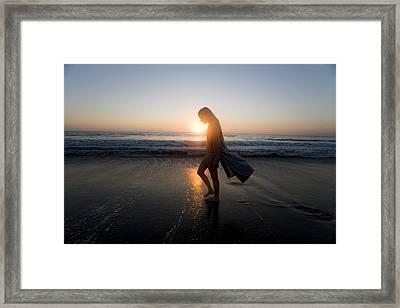 Introspection Framed Print by Brad Rickerby