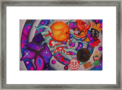Introverse Framed Print
