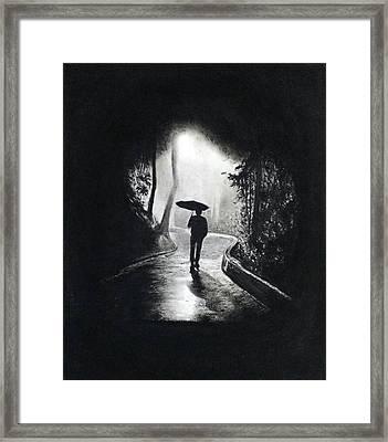 Introversion Etc. Framed Print