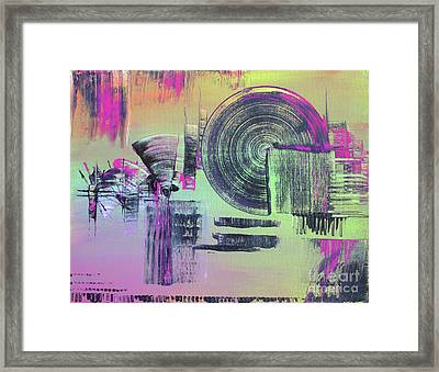 Introvert Framed Print by Melissa Goodrich