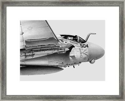Intrusion Framed Print by Lyle Brown