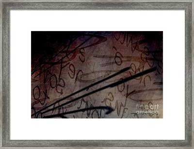 Intrusion Framed Print