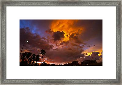 Intuition Framed Print by Skip Hunt