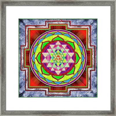 Intuition Sri Yantra 1 Framed Print