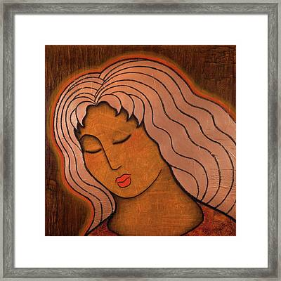 Intuitive Listening Framed Print