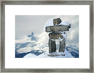 Inukchuk Whistler Framed Print by Pierre Leclerc Photography