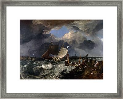 Inv Blend 13 Turner Framed Print by David Bridburg