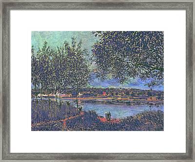Inv Blend 16 Sisley Framed Print by David Bridburg
