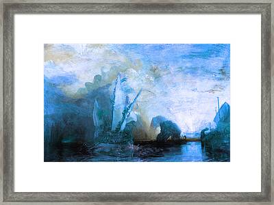 Inv Blend 20 Turner Framed Print by David Bridburg