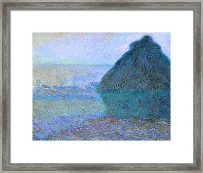 Inv Blend 21 Monet Framed Print by David Bridburg