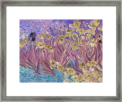 Inv Blend 6 Van Gogh Framed Print