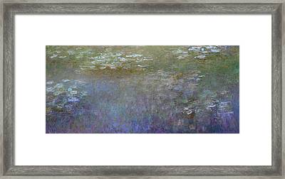 Inv Blend 7 Monet Framed Print