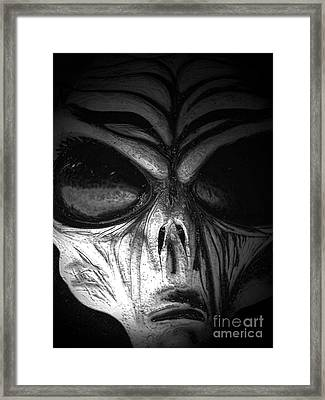 Invaded Framed Print