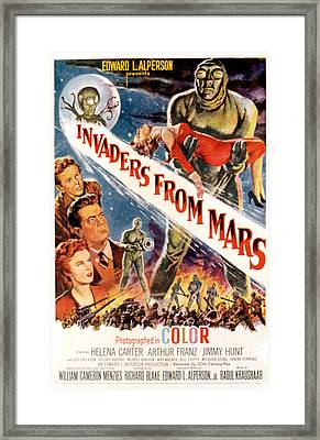 Invaders From Mars, Jimmy Hunt, Arthur Framed Print