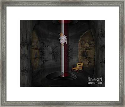 Invaders From Mars By Kevin Oconnell - Kogalleries.com Framed Print
