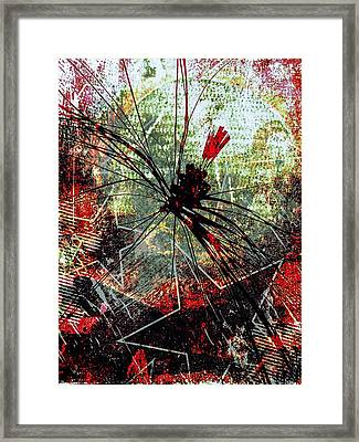 Invasion Hollywood Framed Print by Rick Purtle