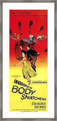 Invasion Of The Body Snatchers, Center Framed Print by Everett