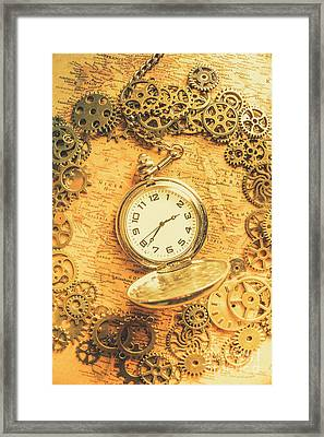 Invention Of Time Framed Print