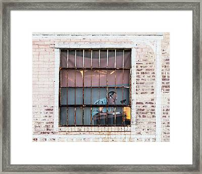 Inventory Time Framed Print