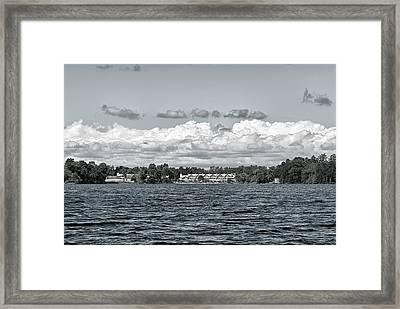 Invermara Bay Framed Print