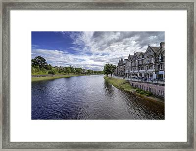 Framed Print featuring the photograph Inverness by Jeremy Lavender Photography