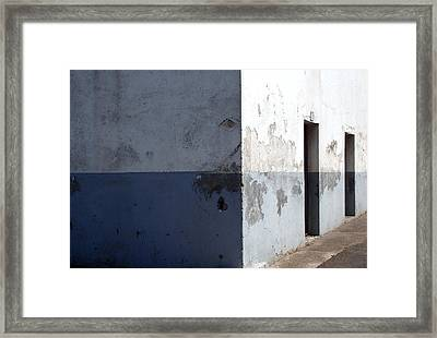 Inversion - Architectural Optical Illusion Framed Print