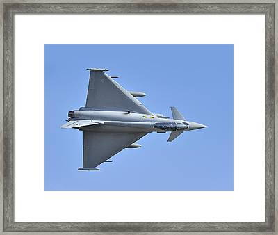 Inverted Typhoon In The Welsh Hills Framed Print by Barry Culling