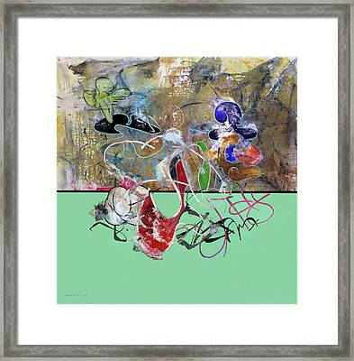 Invest In Imagination Framed Print by Antonio Ortiz
