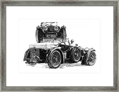 Invicta Framed Print by Ron Patterson