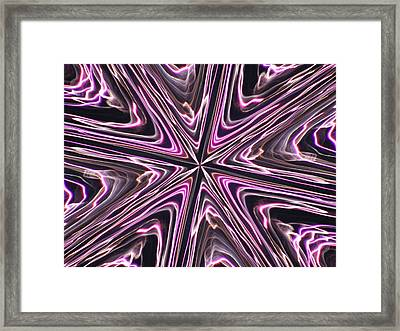 Framed Print featuring the photograph Inviolate Violet by David Dunham