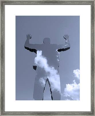 Framed Print featuring the photograph Invisible ... by Juergen Weiss