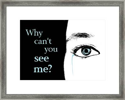 Invisible Love Framed Print