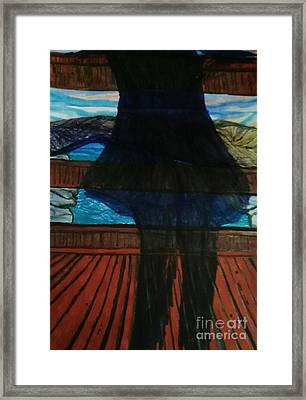 Invisible Moments Framed Print by Ishy Christine Degyansky