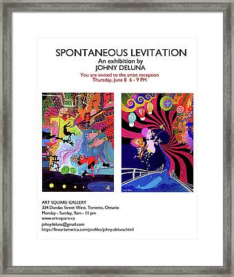Invitation Framed Print by Johny Deluna