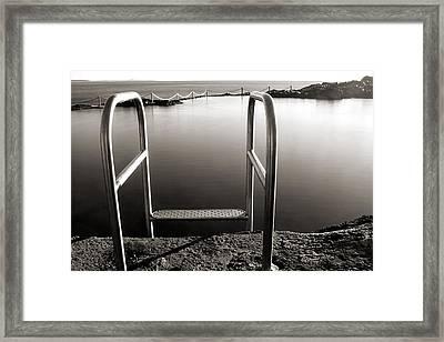 Invitation Framed Print by Nicholas Blackwell