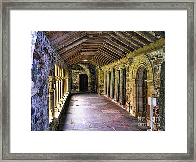 Arched Invitation Passageway Framed Print