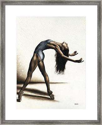 Invitation To Dance Framed Print by Richard Young