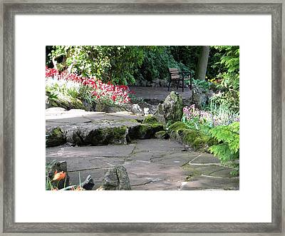 Framed Print featuring the photograph Invitation To Have A Rest by Manuela Constantin