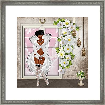 Inviting Framed Print
