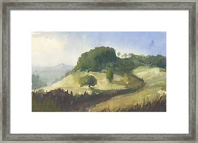 Inviting Path Framed Print