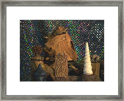 Framed Print featuring the photograph Invocation by Carolyn Cable