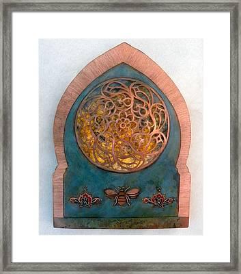Nur An - Nahl / Invocation Framed Print