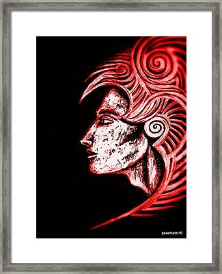 Invulnerability Of The Subconscious Framed Print