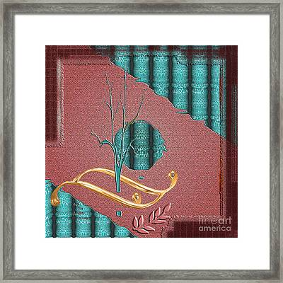 Framed Print featuring the digital art Inw_20a5562-sq_sap-run-feathers-to-come by Kateri Starczewski